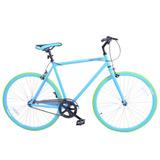 Bicicleta De Ruta Royal London Fixie De Importación Azul