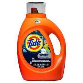 Tide Detergente Aroma Sport, 59 Cargas, 2.72 L