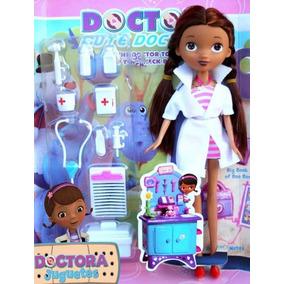 Muñeca Doctora Juguetes +10 Accesorios Niña Botiquin Maletin