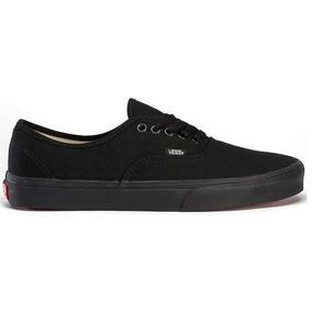 Tênis Vans Classic Authentic Black Black - Original + Nf