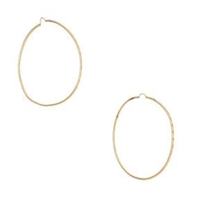 Arracadas Tubulares Diamantadas En Oro Amarillo.-139409276