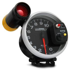 Velocímetro Contagiro Rpm Automotivo Tuning Led 7 Cores