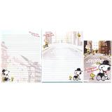 Lote 10 Conjuntos Papel Papéis De Carta Importados Snoopy 7
