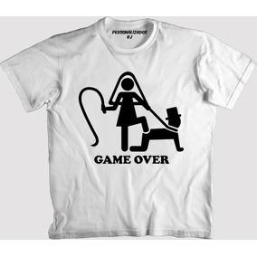 4a1d95c05 Game Over Mug - Camisa Masculino no Mercado Livre Brasil