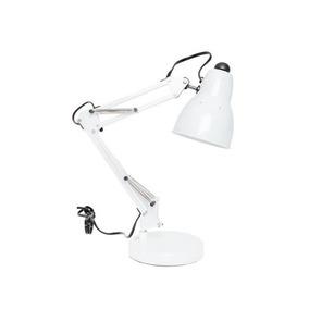Octanis Lámpara De Mesa De Aluminio - Blanco