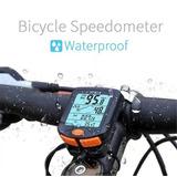 Odômetro Lcd Multi-função Impermeável,resistente A Água