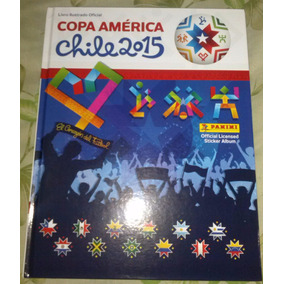 Álbum Capa Dura Copa América Chile 2015