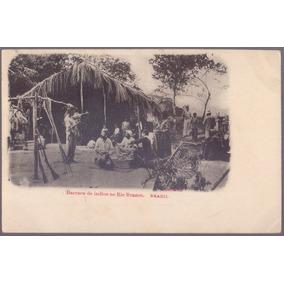 Barraca De Índios No Rio Branco - 14011923