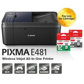 Impresora Canon Multifuncional Imprima Wifi Tablet O Celular