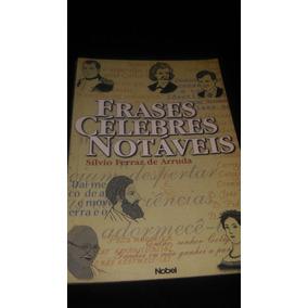 Livro Frases Célebres Notáveis.