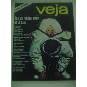 Revista Veja 45 Edição Histórica Sobre Lua Sem Encarte 1969