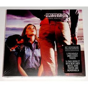 Scorpions Animal Magnetism Cd Digipack Deluxe Heavy Metal