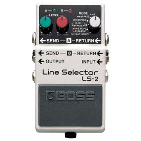 Pedal Guitarra Line Selector Ls2 Boss