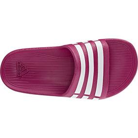 Chinelo Adidas Feminino Duramo Slide - Chinelos no Mercado Livre Brasil 85925783a25