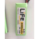 Bateria Life 6,6v 2100mah Hobbico. Impecable!