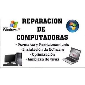 Formateo De Computadoras Laptop Y Escritorio