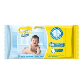 Lenços Umedecidos Baby Wipes - 48 Toalhas
