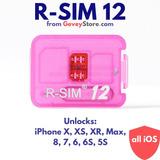 R - Sim 12 Desbloqueio Todos iPhone