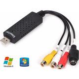 Easycap Placa De Captura De Video Usb - P/ Vhs Ps3 Xbox360