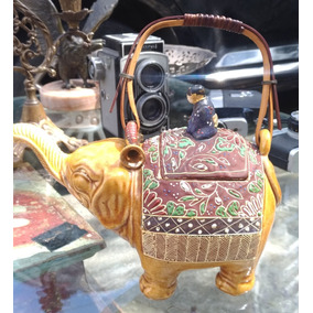 Bule Antigo Japones Fomato De Um Elefante