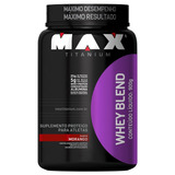 Whey Blend 900g + Creatina 300g Max Titanium