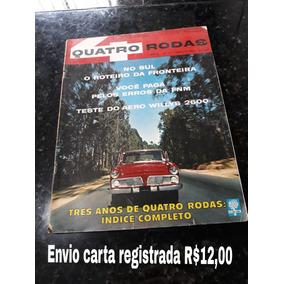 Revista Quatro Rodas 37 Agosto 1963 Aero Willys