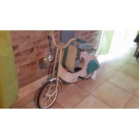 Antigua Bici Monterrey Tipo Vespa