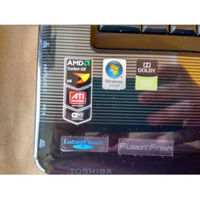 Notebook Satellite A3355d-s6889 Para Retirada De Peças