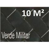 Cinta Rompevientos Verde Militar P Malla Cic Rollo 10m2 Vm10