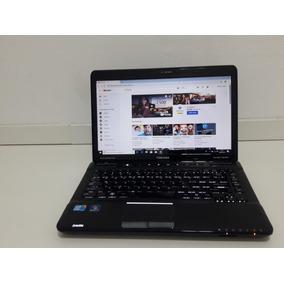 Notebook Toshiba Satellite Intel Core I5 4gb Ssd 120gb