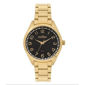 0988a546519 Relogio Condor Fundo Preto Feminino - Relógios De Pulso no Mercado ...