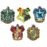Parches Bordados Escudos Harry Potter De 8cm
