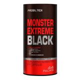 Monster Extreme Black C/44 Packs Probiótica Igual Animal Pak