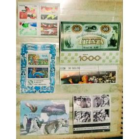 Conjuntos 6 -selos Brasil Anos 80/90