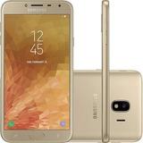 Celular Samsung Galaxy J4 32gb Dual 13mp + Flash Frontal