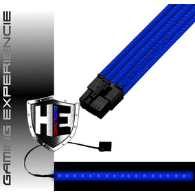 Cabo Extensor Gamer Sleeve Processador Cpu 4+4 8p Pinos Top