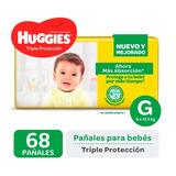 Pañales Huggies Classic Triple Proteccion Promopack