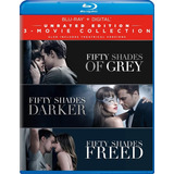 Blu-ray Fifty Shades / 50 Sombras De Grey Coleccion 3 Films