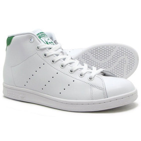separation shoes c91b9 aa83b adidas Stan Smith Mid Blanco Hombre S75028 Look Trendy