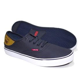 Zapato Tenis Levis Azul Casual Juvenil