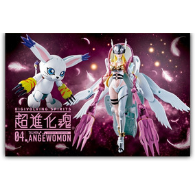 São Paulo · Boneco Digimon Digivolving Spirits Angewomon Tailmon Bandai 6d438772ef
