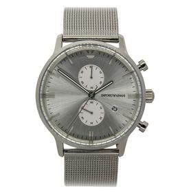 593d7b2f2ba Relógio Emporio Armani Masculino Aço no Mercado Livre Brasil