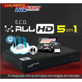 Dvr Hvr Full Hd 1080 5x1 Híbrido Luxvision 8 Canais