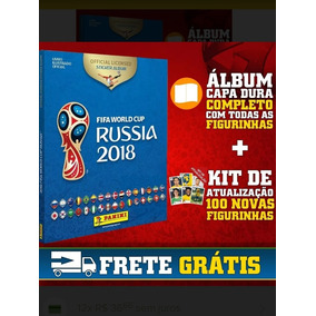 Album Copa Do Mundo Russia Completo