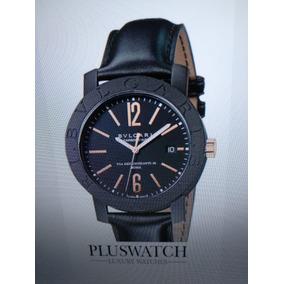 Relógio Bulgari 40mm Carbon-gold 18kt Automatic Como Novo