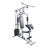 Estação De Musculação Compacto Home Gym Cinza 45kg