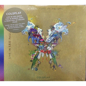 2 Cds + 2 Dvds Coldplay - Live In Sp E Live In Buenos Aires