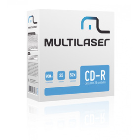 Cd-r Multilaser - Cd029