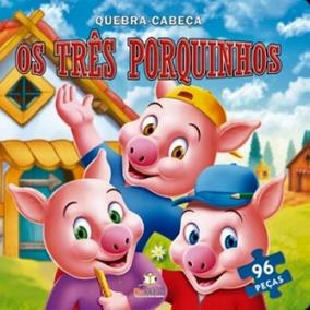 Os Três Porquinhos - Quebra-cabeça - Blu