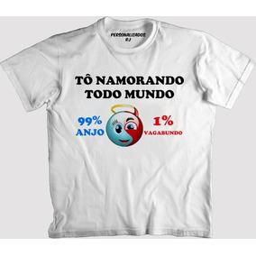 ef65ceb5e2 Camisa Melhor Namorado Do Mundo - Camisa Manga Curta no Mercado ...